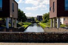 _DSC0904 (durr-architect) Tags: almere modern housing lake water statue art light