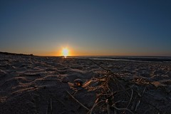 Sunset at the beach (jezebel_cux) Tags: cuxhaven cuxland nordsee northsea germany deutschland niedersachsen lowersaxony strand sonnenuntergang beach sunset