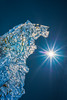 Ice Lion (Tore Thiis Fjeld) Tags: nature outdoors close ice lion icelion sun sunstar sky color cold frozen natural naturalart details reflections sigma50mmf14dghsmart d800 nikon norway winter