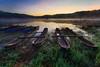 Serene Morning at Tamblingan lake (Pandu Adnyana Photography Tour) Tags: tamblingan lake boat bali indonesia baliphotographytour baliphotographyguide balitravelphotography balilandscapephotography tour guide travel