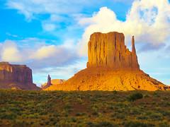 Monument Valley, Navajo Tribal Park #65 (jimsawthat) Tags: navajo highdesert rural arizona erosion geology monumentvalleytribalpark