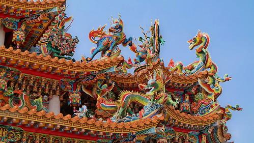 Zuoying Xianshu Sanshan Confucius Temple, KaoHsiung