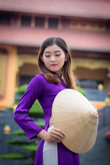499 (A.P.VN) Tags: aodai portrait asian woman young sweet vintage