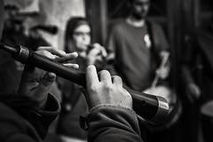 Toc a Castells ..... (Alex Nebot) Tags: music musica instrumento tradicion cultura castells castellers gralla graellers nensdelvendrell vendrell tarragona catalonia catalunya penedes nikon nikonista d7200 details detall bw biancoenero blackanwhite