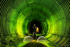 ...pero ya me voy. (Yorch Seif) Tags: tunel nocturna nocturnal largaexposicion longexposure lightpainting d7500 tokina1116