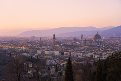 Florence Sunset (ericducourneau) Tags: florence italy 2018 travel sony sunset cathedral city