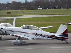 G-RVTX Vans RV-8 Private (Aircaft @ Gloucestershire Airport By James) Tags: gloucestershire airport grvtx vans rv8 private egbj james lloyds