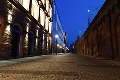image (Syreniec) Tags: visitpoland lodzkie łódzkie night bricks woolfactory fabrykawelny fabrykawełny pabianice canoneos6d canonef1635f4lisusm