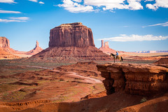 Monument Valley Utah! John Ford Viewpoint Horse & Rider Lookout! The Epic Landscapes of the Colorado Plateau! Dr. Elliot McGucken Fine Art Landscape and Nature Photography (45SURF Hero's Odyssey Mythology Landscapes & Godde) Tags: monument valley the epic landscapes colorado plateau dr elliot mcgucken fine art landscape nature photography utah john ford viewpoint horse rider lookout