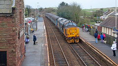 Hive Of Activity (Richie B.) Tags: 2c41 st bees cumbria arriva northern trains drs direct rail services english electric british class 37 37402
