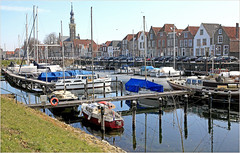 Veere, Walcheren, Zeelande, Nederland (claude lina) Tags: claudelina nederland hollande paysbas zeeland veere zeelande boat port haven