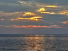Sunset (markb120) Tags: sunset set decline sundown fall afterglow setting sea ocean isle insula jackal rock crag scaur scar stone calculus scale concretion gum coast shore littoral water sky heaven palate blue roofofthemouth sphere cloud eddy