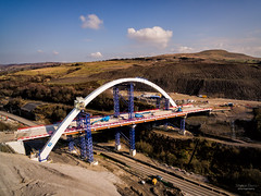 New Arch on Heads of the Valleys road