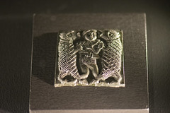 Viking silver depicting battle with bears (quinet) Tags: 2017 canada ontario rom royalontariomuseum toronto vikings 124