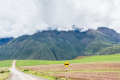 Road to the Andes (hermilo87) Tags: peru cusco southamerica landscape mountain clouds road green travel