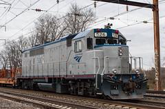 Amtrak GP38H-3 526 (Dan A. Davis) Tags: amtrak gp38h3 railroad locomotive train croydon pa pennsylvania northeastcorridor