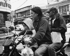 Three Up (Beegee49) Tags: street family men boy child motorcycle bacolod city philippines
