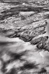 Iceland From The Sky 6 (pni) Tags: airplane monochrome landscape ice snow window view cloud is18 iceland ísland pekkanikrus skrubu pni