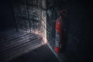 Feuerlöscher...