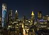 28th Street NYC (fantommst) Tags: lisaridings fantommst newyork nyc night usa lights sky skyscrapers buildings street rooftop chelsea woolworthbuilding 28th city road building skyline skyscraper tower