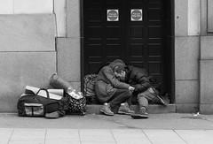 Life on the street... not good! (Steve Barowik) Tags: leeds ls1 yorkshire westyorkshire whiterose nikond750 85mmf18g fx fullframe barowik riveraire canal navigation leedsliverpool lock station bridgewaterplace bridge briggate market headrow milleniumsquare leodis boarlane vicarlane kirkgate whitelocks vq victoriaquarter stevebarowik sbofls26 granarywharf lovelycity unlimitedphotos flickrelite wonderfulworld quantumentanglement