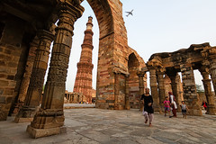 Qutub Minar (Ashmalikphotography) Tags: qutubminar qutub qutubnights incredibleindia ashishshoots ashmalikphotography sunset children composition