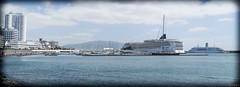 Panorama de Ponta Delgada et du Norwegian Jade, Açores, Portugal - 5900 (rivai56) Tags: pontadelgada açores portugal pt panoramadepontadelgadaetdunorwegianjade portugal5900