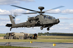 ZJ167_WAH-64Apache_BritishArmy_FARPLanding_SPTA (Tony Osborne - Rotorfocus) Tags: agustawestland leonardo wah64 ah64 apache longbow british army air corps salisbury plain training area spta exercise pashtun jaguar