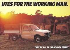1985 Holden Rodeo (Hugo-90) Tags: ads advertising brochure catalog truck pickup 1985 holden isuzu kb