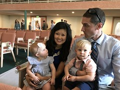 """Emily and Joe with Dani and Kai at Lauren and Bradley's Wedding Ceremony • <a style=""""font-size:0.8em;"""" href=""""http://www.flickr.com/photos/109120354@N07/41714541784/"""" target=""""_blank"""">View on Flickr</a>"""