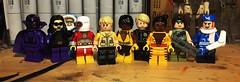 Squaddies (Lord Allo) Tags: lego dc suicide squad black orchid nightshade captain cold deadshot rick flag vixen nemesis bronze tiger duchess boomerang