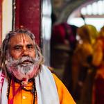 Baba During Holi, Vrindavan India thumbnail