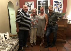 Robert & Ritsa with Fida & Bernard (RobW_) Tags: me robert ritsa fida bernard hess mimosa lodge guest house restaurant montagu route62 klain karoo western cape south africa monday 05mar2018 march 2018