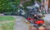 DR Personenzug mit der VIk (Stefan's Gartenbahn) Tags: lgb 20480 dampflok 99653 vik sachsen mfx dcc youtube märklin steam neuheit gartenbahn modellbahn lokschuppen fgbberlin fgb fgbteam schmalspur schmalspurdampflok zug lokomotive dr aussichtswagen wernesgrüner cabriowagen filmchen