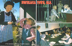 02 ChristineC (Rocky's Postcards) Tags: nostaliga town queensland australia tourist attraction dummies mannequina display castoroil jail towncouncil postcard christinec