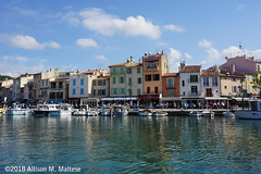 The Harbor in Cassis (A.Maltese) Tags: houses harbor boats shoreline cassis cotedazur france frenchriviera
