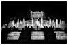 "Fontaines du ""Museu Nacional d`Art de Catalunya"" de Barcelone (laurentcornu) Tags: monochrome cityscape streetphoto architecture blackandwhite mnac fontaines barcelone"
