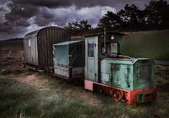 Feldbahn (Roger Armutat) Tags: cuxhaven norddeutschland sahlenburg küste feldbahn oldtimer sony deich nordseeküste technik sonya7mii wolken clouds schienen zug schienenfahrzeug wursternordseeküste germany