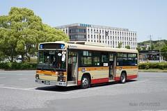 神奈川中央交通 Kanagawa Chuo Kotsu せ50 (パトリック253) Tags: kanachu bus university keio