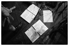 Anthony Braxton ZIM Music @ Cafe Oto, London, 28th May 2018 (fabiolug) Tags: score scores light shadow shadows anthonybraxton zimmusic septet taylorhobynum adammatlock danpeck jacquelinekerrod miriamoverlach avantgarde composition improvisation improv experimental cafeoto london dalston music gig performance concert live livemusic leicammonochrom mmonochrom monochrom leicamonochrom leica leicam rangefinder blackandwhite blackwhite bw monochrome biancoenero leicaelmarit28mmf28asph elmarit28mmf28asph elmarit28mm leicaelmarit28mm 28mm elmarit leicaelmarit wide wideangle