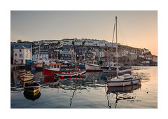 Mevagissey (Dave Fieldhouse Photography) Tags: mevagissey cornwall cornwalllife southwestcoastpath coast coastal boats fish fishingvillage fishing sunrise sunshine dawn morning port harbour reflections clearsky outdoors fuji fujixt2 fujifilm wwwdavefieldhousephotographycom holidays spring mirrorless