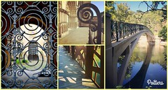 Poitiers collage (Helene Iracane) Tags: poitiers ville fer iron metal town passages nikon d3100 iphone river rivière bridge pont door gate portail cathedral cathedrale reflet reflection shadow ombre volutes