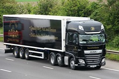 Dennis Distribution YY67 VTJ Dovecote Park 1st June 2018 (asdofdsa) Tags: hgv haulage transport truck lorry motorway m18 southyorkshire freight goods