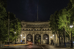 Admiralty Arch, London (sumnerbuck) Tags: england london arch night stars