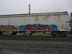 P1170031 (Nsguy999) Tags: trains railroad railfan panasonicg7 norfolksouthern unionpacific uprr locomotive historic freight train railfanning pennsylvania
