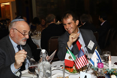 JCRC/AJC Past President Richard Krugel and Counsel General - Mexico Fernando Gonzalez Saiffe