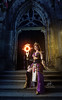 Fotocon 2017: Arshania Cosplay's Human Mage from Diablo III, by SpirosK photography: Magic Scepter (SpirosK photography) Tags: arshaniacosplay fotocon2017 human mage diablo3 spiroskphotography humanmage cosplay fotocon fotoconbytechland spells magic portrait church steps stairs entrance scepter strobist nikon