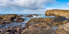 Point Lobos Sunshowers (Matt McLean) Tags: california carmel coast intertidal monterey pointlobos rainbow