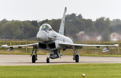 Typhoon (Bernie Condon) Tags: eurofighter typhoon fighter bomber swingrole jet multirole multinational british royalairforce raf military warplane groundattack reconnaissance strike attack rafconingsby station rafstation coningsby airfield airbase base camp