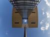 Kranhaus Köln (Torsten schlüter) Tags: deutschland köln kranhaus himmel rhein architektur olympus 8mm 2017